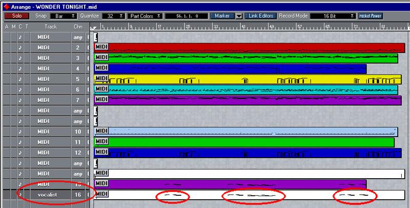 voice harmony - 11 - xgworks - midimusic