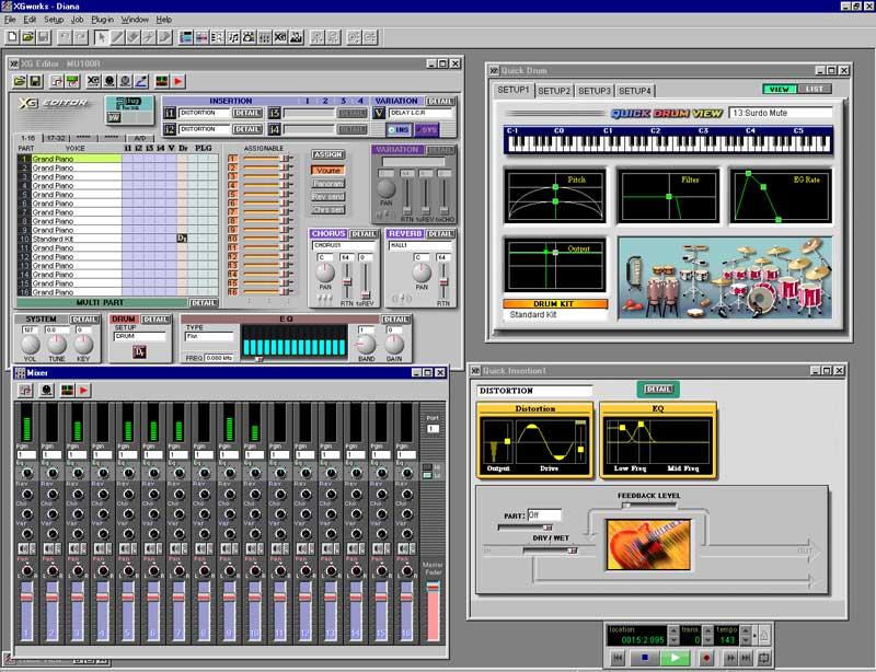 voice harmony - 15 - xgworks - midimusic