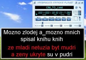 jak na karaoke 11 midimusic.cz
